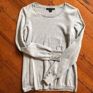 Banana Republic gray 3/4 sweater